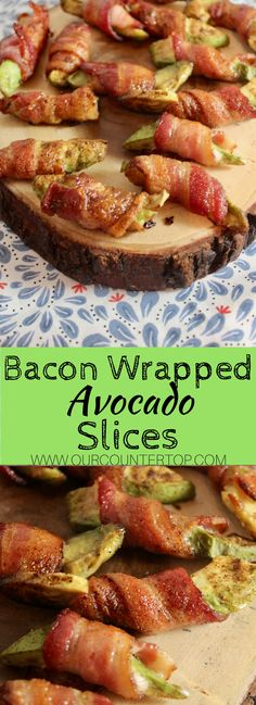 These bacon wrapped avocados are #lowcarb and delicious!