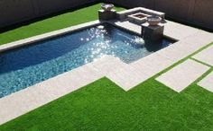 Artificial Grass by Global Syn-Turf is best buy fake grass in Tyler, Texas for landscape lawns playgrounds golf putting greens decks patios dogs. Fake Turf, Fake Grass, Living Pool, Synthetic Lawn, Modern Pools, Artificial Turf, Dream Pools, Pool Designs, Backyard Patio