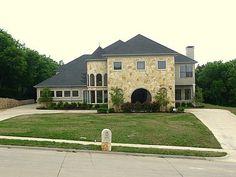 A castle inspired home in Cedar Hill, #Texas
