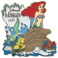 History of Art 2003 - The Little Mermaid (1989) Ariel, Sebastian and Flounder