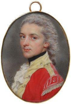 Portrait of an unknown man, by John Inteligente (1742-1811), in 1787.