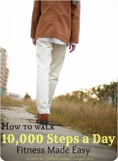 How to walk 10000 Steps a Day