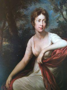 A portrait of Friederike von Helldorf, painted in 1803 by Anton Graff.