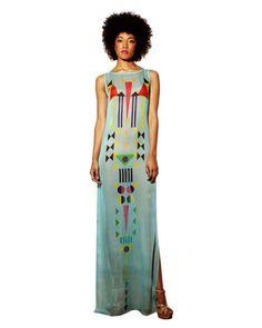 Africa-inspired Fashion: Sindiso Khumalo Spring-Summer 2013  #afrochic #bohemian