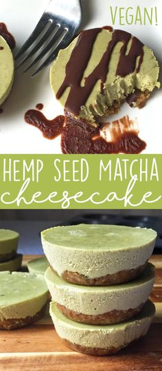 If you're seeking a delicious vegan dessert recipe, look no further than this hemp seed matcha vegan cheesecake recipe! Packed with nutritious superfoods, gluten-free, and naturally sweetened.