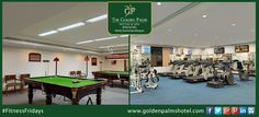 The Golden Palms Hotel & Spa, Bengaluru is the perfect weekend getaway destination!   Visit www.goldenpalmshotel.com for more details. #FitnessFriday
