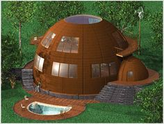 Image result for geodesic dome home