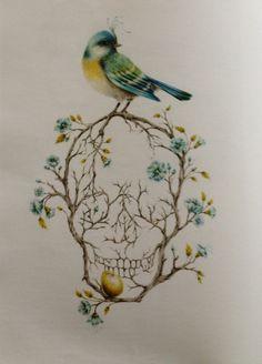 Courtney Brims branch skull