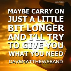 DAVE MATTHEWS BAND MERCY LYRICS