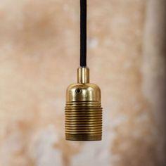 NORDISK ROM Brass Pendant, Pendant Lamp, Black N Yellow, Eyeliner, Chrome, Bulb, Bronze, Ceiling Lights, Pedestal