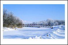 Beautiful, snowy Fargo-Moorhead! Been here!