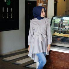 Casual Hijab Outfit, Hijab Chic, Casual Dresses, Hijab Fashion, Fashion Outfits, Fasion, Womens Fashion, Modern Hijab, Modest Wear