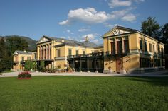 The Kaiservilla in Bad Ischl, Austria, Emperor Franz Joseph and his wife Elizabeth's summer residence from shortly after their marriage to his death in Sissi, Kaiser Franz, Joseph, Villa, Royal Residence, Imperial Palace, Her World, France, Vienna Austria