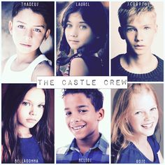 """""""The Castle Crew next generation from """"Pygmalion"""" by… Castle, Fan Art, Movie Posters, Movies, Films, Film Poster, Castles, Cinema, Movie"""