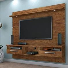 12 veces he visto estas preciosas muebles minimalistas. Tv Set Design, Tv Wall Design, House Design, Tv Unit Decor, Tv Wall Decor, Tv Unit Furniture, Furniture Design, Tv Wanddekor, Lcd Panel Design