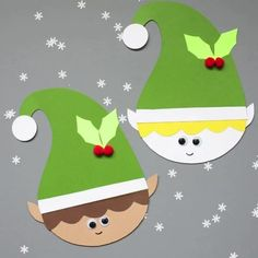 Easy Christmas Crafts for Kids - Christmas - Preschool Christmas Crafts, Christmas Arts And Crafts, Christmas Activities For Kids, Xmas Crafts, Craft Activities, Kids Christmas, Fun Crafts, Christmas Christmas, Creative Crafts
