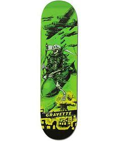 Creature Gravette Give Em Hell Skateboard Deck Skateboard Design, Skateboard Decks, Kink Bmx, Creature Skateboards, Kathe Kollwitz, Skate Art, Skate Decks, Surf Art, Weapons Guns
