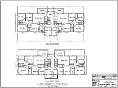 Family Housing Floor Plan Type 2306