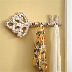 Key towel hook - LOVE!