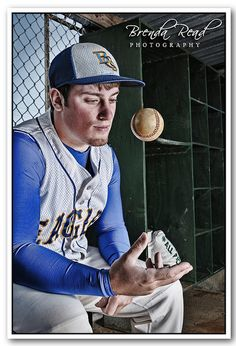 Strobist Baseball Portrait (Sportrait) HDR - Lucis Art by brendaread, via Flickr