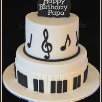 57 Ideas music theme cake kids for 2019 Music Birthday Cakes, Music Themed Cakes, 12th Birthday Cake, Music Cakes, Birthday Cakes For Men, Themed Birthday Cakes, Dad Cake, Cake Kids, Bolo Musical