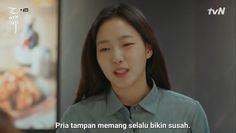 Quotes Drama Korea, Drama Quotes, Mood Quotes, Kdrama Memes, Funny Kpop Memes, Tumblr Quotes, Jokes Quotes, Korean Drama Funny, Quotes Indonesia