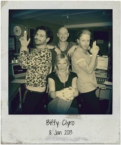 Twitter / BBCRadio2: .@Biffy_Clyro Simon, James ...