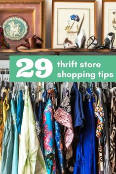 One of the biggest tips for saving money is to try to never buy new! Check out my 29 tips for Thrift store shopping that have saved us a ton. Thrift Store Outfits, Thrift Store Shopping, Thrift Store Crafts, Shopping Hacks, Thrift Stores, Fun Shopping, Diy Clothing, Recycled Clothing, Recycled Fashion