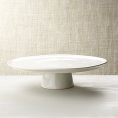Marin White Cake Stand at Crate and Barrel Canada. Discover unique furniture and decor from across the globe to create a look you love.