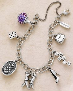 Loaded Charm Bracelet from James Avery Jewelry #JamesAvery #MyJamesAvery #Charms #CharmBracelet