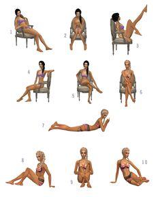 "Boutique ""Imaginary"": Model posebox by Illary"