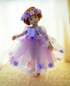 """SOLD """"Sugarplum Fairy""""Holiday Dress,Outfit,Clothes for 13""""Effner Little Darling-Lumi"""