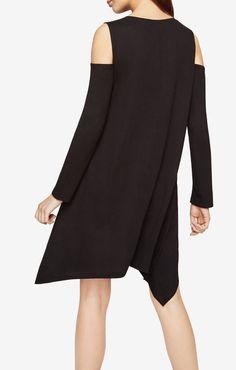 Kirby Cold-Shoulder Dress BCBG