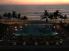 The legian. View from Sunset Suite.