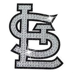 St. Louis Cardinals Rhinestone Bling Auto Emblem