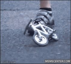 What's this? A bike for ants?