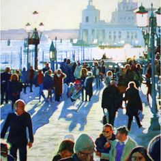 Hilary Burnett-Cooper - By The Waterfront