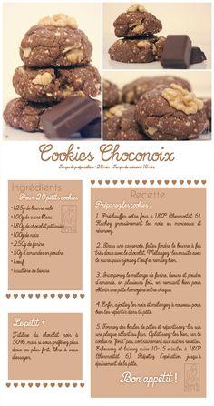 Les Gourmandises de Jelly: ♥ 048 • Cookies Choconoix ♥