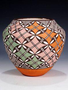 Acoma Pottery, DANIEL LUCARIO