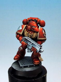 Well painted spacemarine