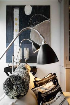 /\ /\ . Malene Birger at home