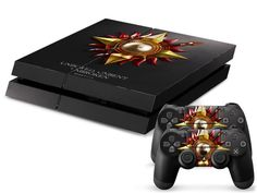 Game of Thrones House Martell Skin  2 PS4 Controller stickers