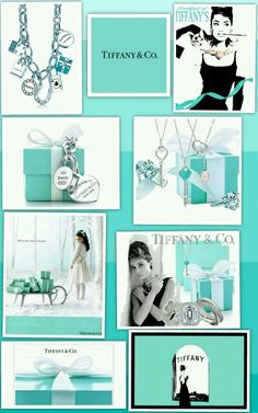 Tiffany and co. collage
