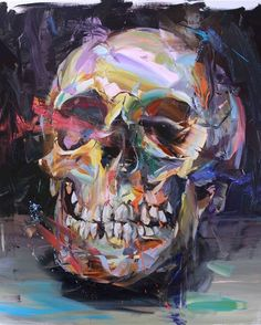 "Visit our site for additional details on ""contemporary abstract art v"". It is actually an exceptional spot for more information. Contemporary Abstract Art, Modern Art, Painting Inspiration, Art Inspo, Fauvism Art, Paul Wright, Advanced Higher Art, Skeleton Art, Skull Painting"