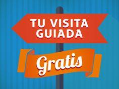No te pierdas ni el más mínimo detalle, contrata nuestras Visitas Guiadas Gratuitas, reservando online.