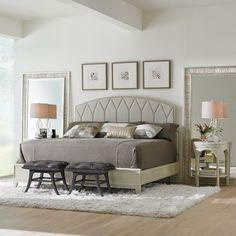 Stanley Furniture Crestaire Alexander Capiz Telephone  Table #zincdoor