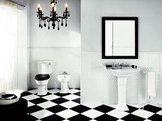 BiancoNero Impronta - эффектная черно-белая керамическая плитка.