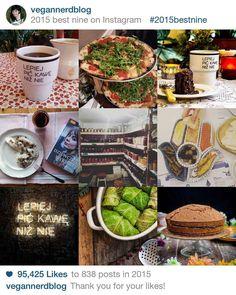 WASZE LAJKI SPONSORUJE @wesolacafe I ICH KAWA ;P  #instacollage #insta #2015best by vegannerdblog