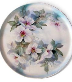 Michael Turner- Wild Roses on Porcelain