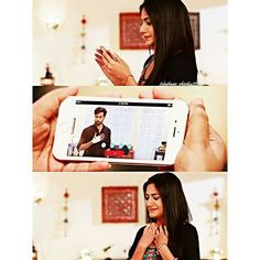 Anika is weak and sad when she sees her strength weak and sad  Shivaay her strength and happiness ...